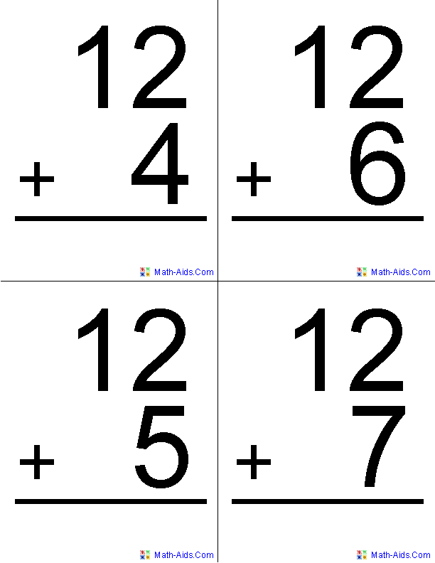 online math flash cards timed