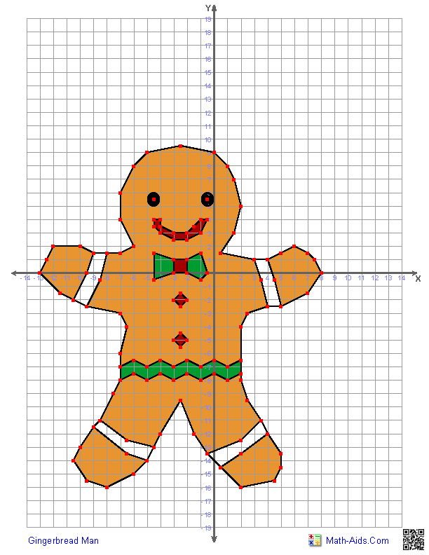 Coordinate graphing- Christmas Mystery picture- Santa Claus ...