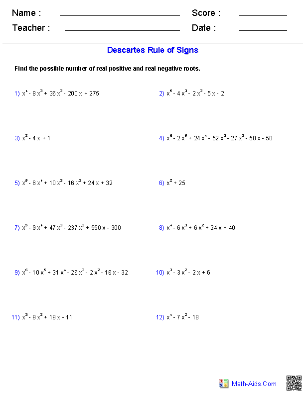 Algebra 2 Worksheets – Function Rules Worksheet