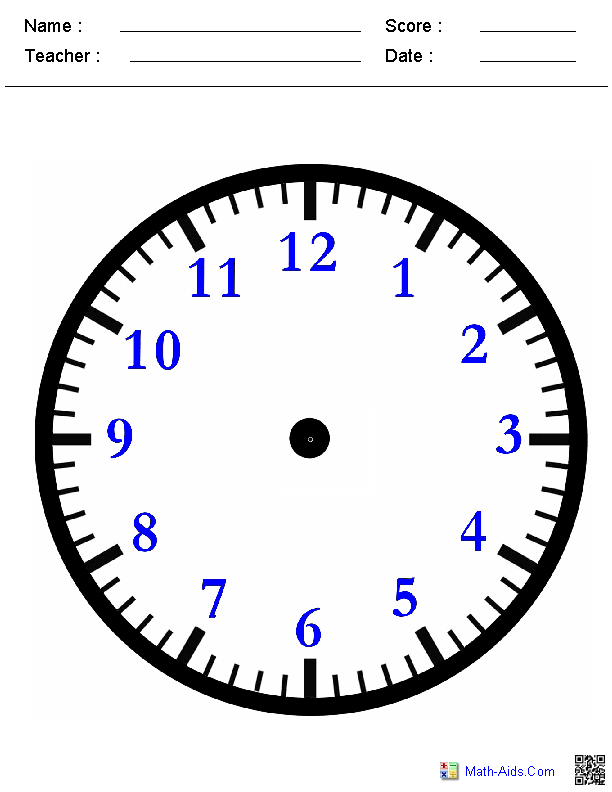 Worksheets Face Math Worksheets time worksheets for learning to tell blank clock face worksheets