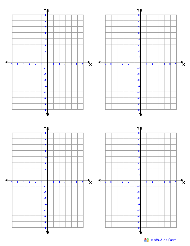 Graph Paper – Grid Paper Template