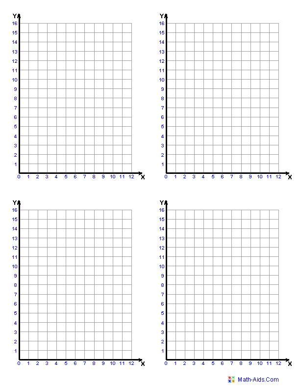 Graph Paper Printable Math Graph Paper
