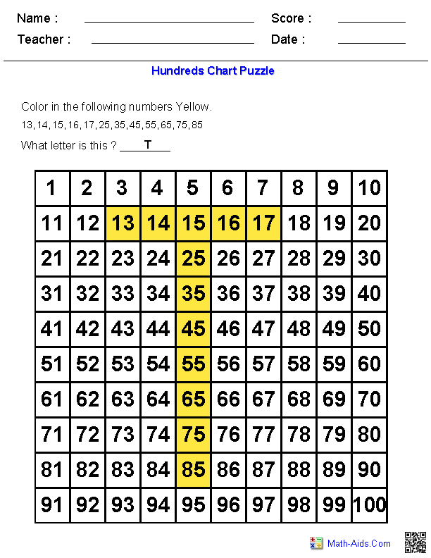 Nice Math Aids Place Value Photos - Math Worksheets - modopol.com