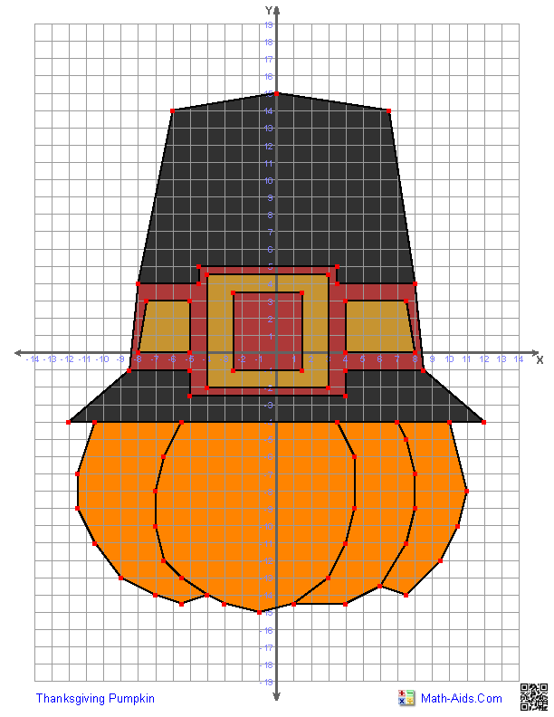 Worksheet Mystery Graph Worksheets graphing worksheets four quadrant characters thanksgiving pumpkin