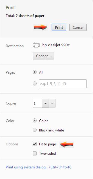 Math-Aids.Com   Printing Tips Page