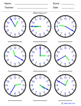 math worksheet : telling time math aids  telling time math aids together with math  : Maths Worksheets On Time